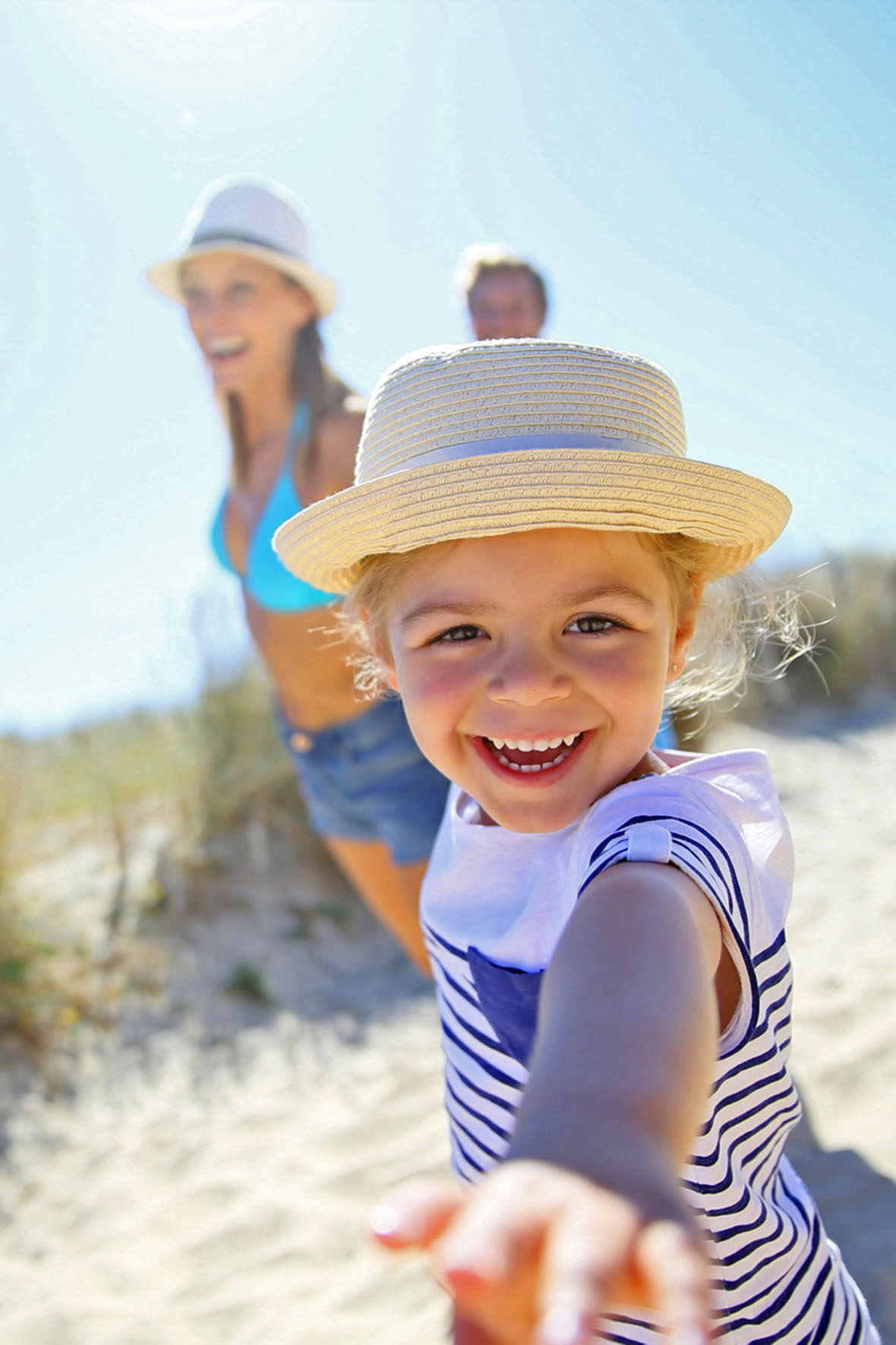 Familienspass am Strand - Das Kind hat Diabetes
