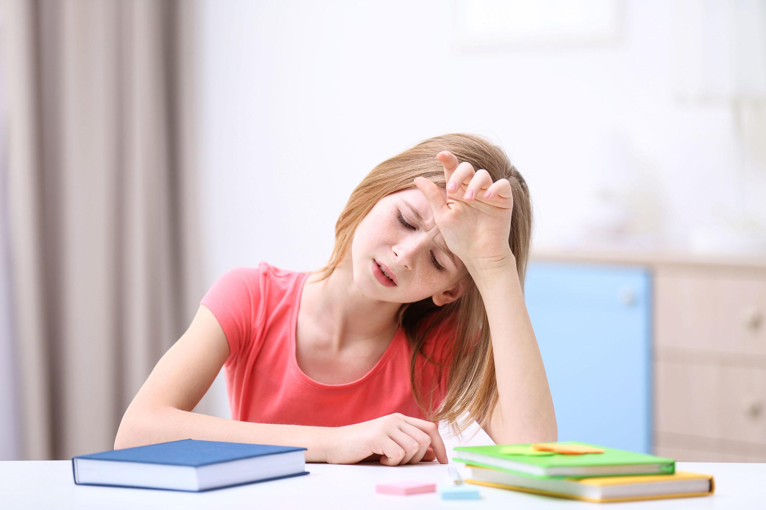 Wenn Kinder über Kopfschmerzen klagen