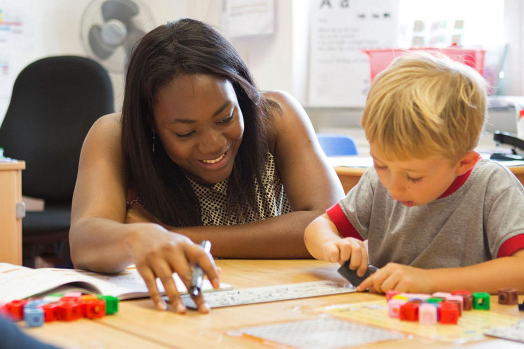 au Pair mit Kind - Sprachen lernen