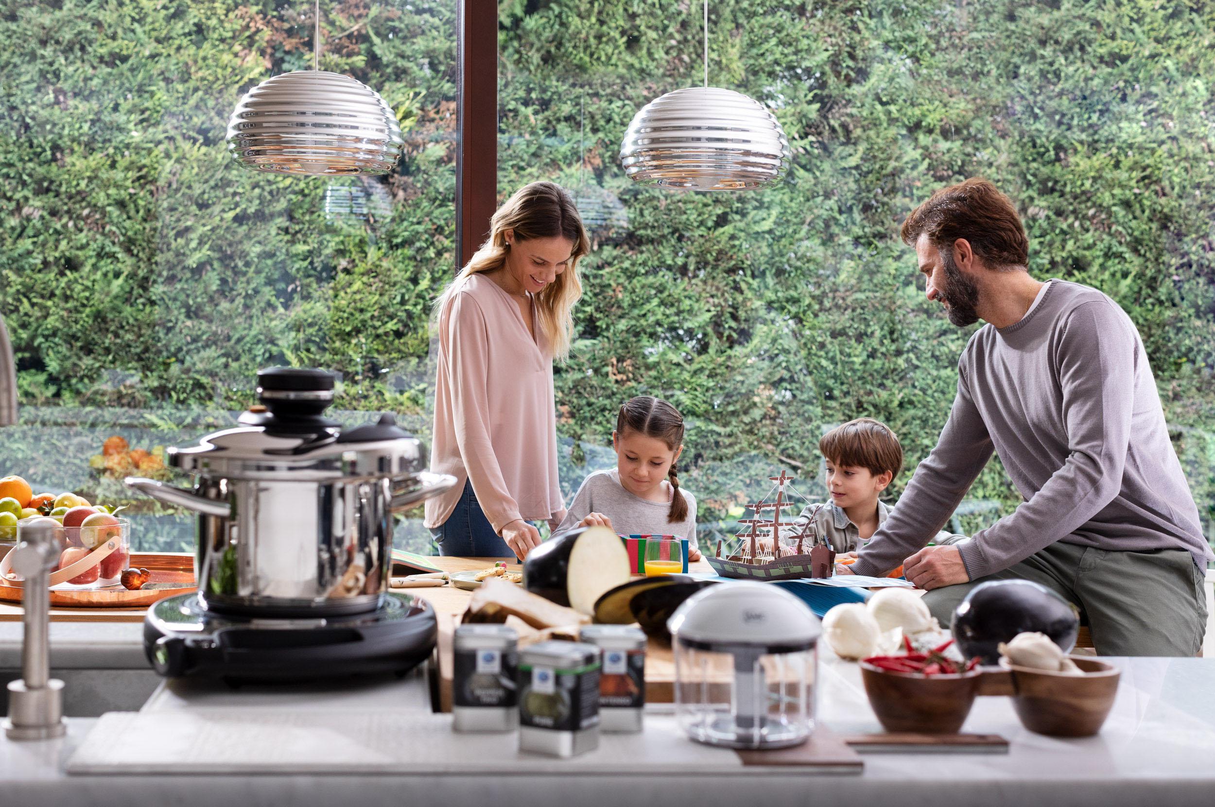 Weniger Stress beim Kochen – mehr Zeit für die Familie