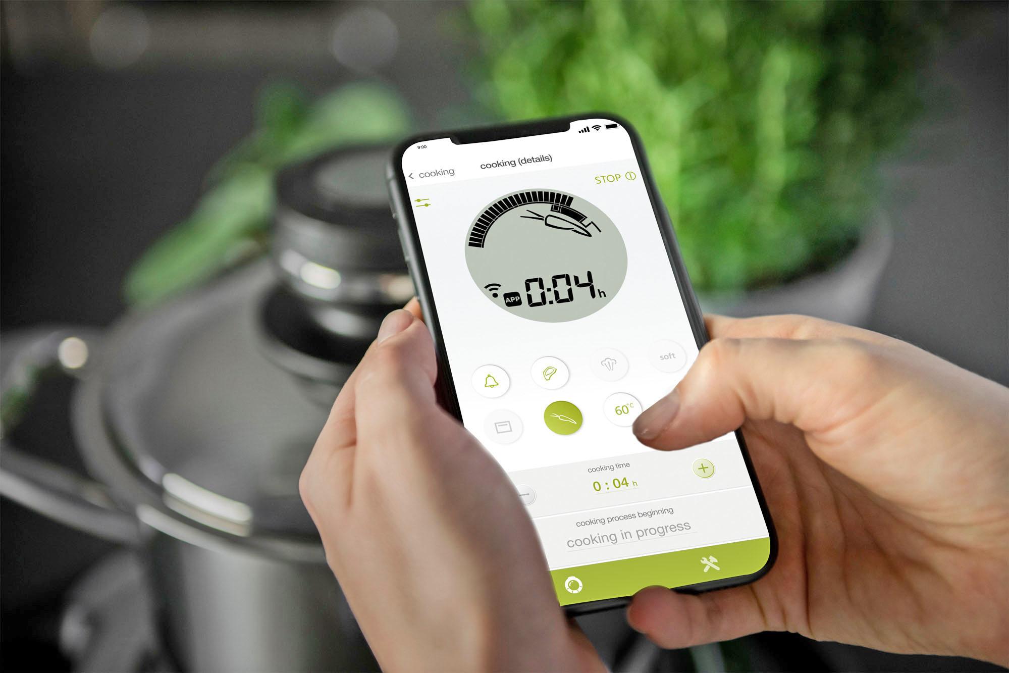 Smarte Küchenhelfer mit Smartphone-Steuerung