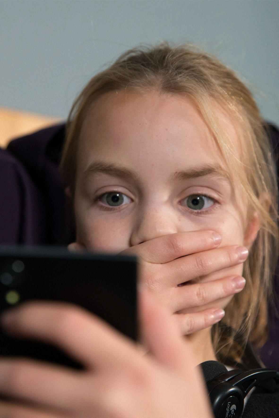 Kind erlebt Hass im Netz